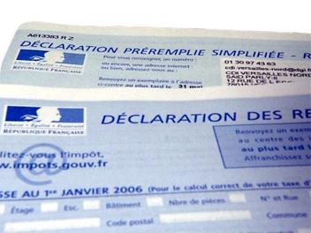 DEDUCTION IMPOT 2012 : IMPOTS SUR LE REVENU 2013